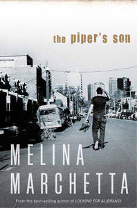Australian cover for The Piper's Son
