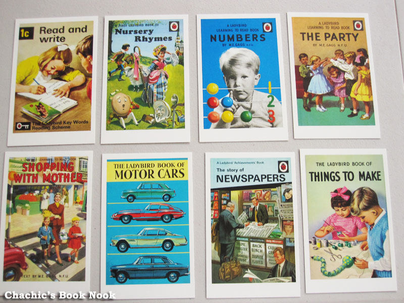 Classic Book Cover Postcards ~ Postcards from ladybird chachic s book nook
