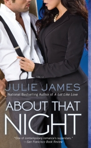 About That Night by Julie James cover