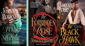 Joanna Bourne's novels