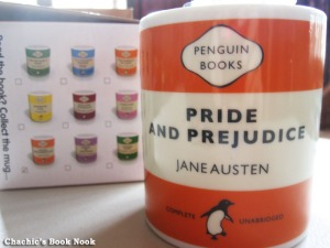 Pride and Prejudice Penguin mug