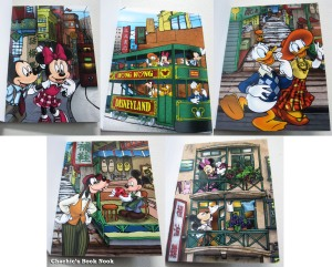 Hong Kong Disneyland postcards