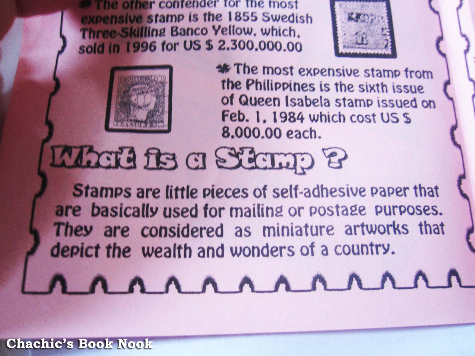 What is a stamp