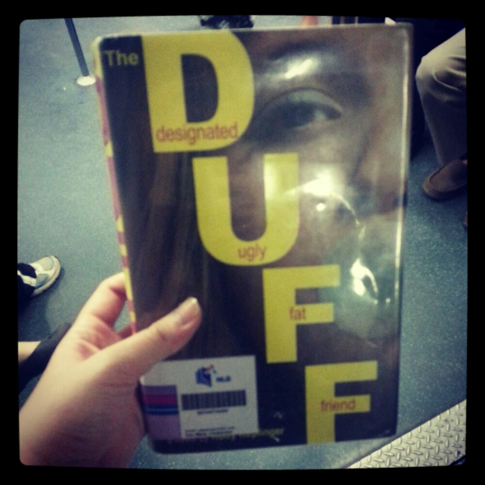 The Duff: Designated Ugly Fat Friend   Chachic's Book Nook