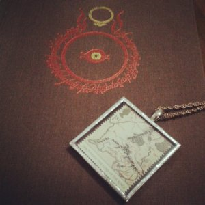 LOTR book and pendant