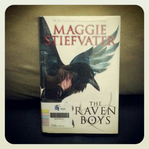 The Raven Boys from the library