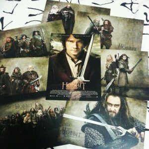 The Hobbit postcard set