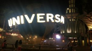 Universal at night