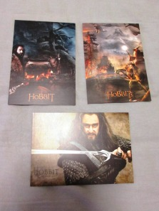 Richard Armitage Hobbit postcards