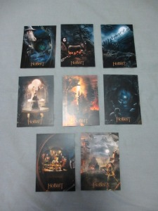 Hobbit postcard set scenes