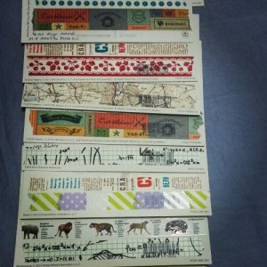 postcards with washi