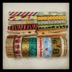 May 2013 Manila washi tape haul
