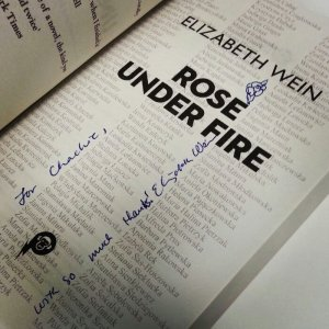 Rose Under Fire UK signature