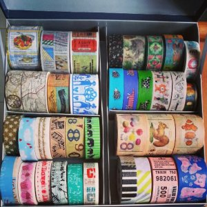 My current washi tape stash