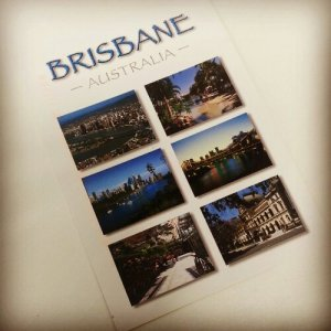 Brisbane postcard from EWein