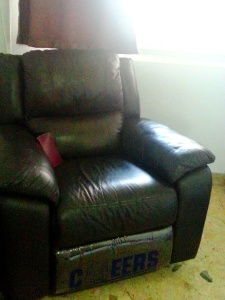 Moving - armchair