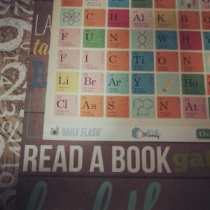 I love this clever play on periodic table elements.
