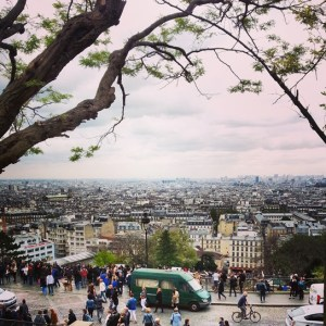 Paris - view from Sacre Coeur