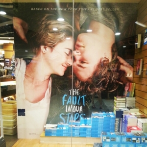 TFiOS display at Kinokuniya