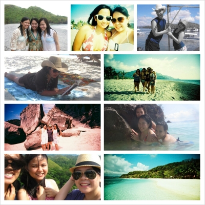 Inspired by Open Road Summer, I made a collage of past trips with girl friends