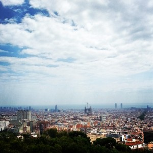 Barcelona 2014 - view from Parc Guell