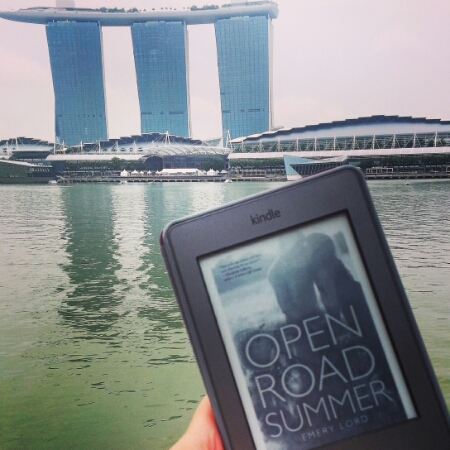 Open Road Summer with Marina Bay Sands in the background