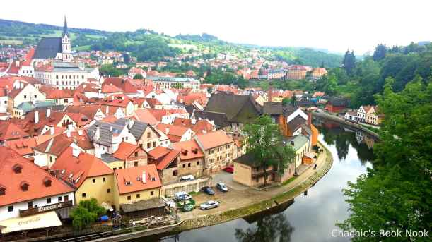 Cesky Krumlov again - for blog