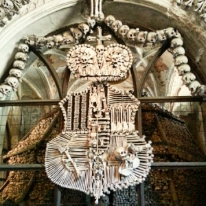 Europe 2015 - Sedlec Ossuary coat of arms