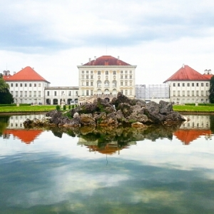 Nymphenburg Palace - view from gardens