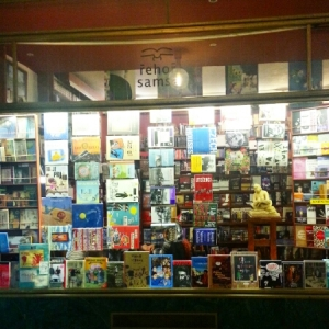 Europe 2015 - Prague indie bookstore