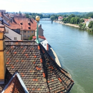Regensburg - from bridge tower
