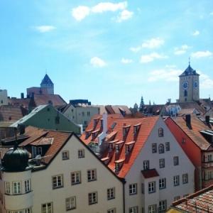 Regensburg - from bridge tower 2