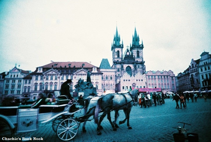 Prague lomo old town