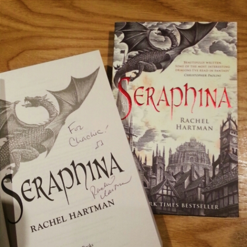 Seraphina - signed copy