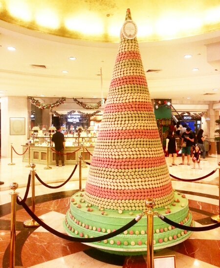 Laduree Christmas tree