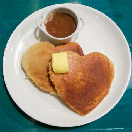 Tweedle Book Cafe - pancakes