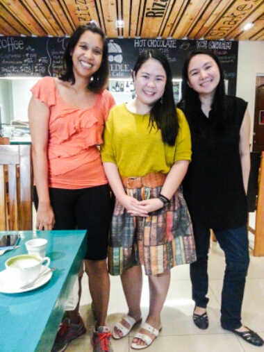 Tweedle Book Cafe - Agay Llanera and Mina V. Esguerra
