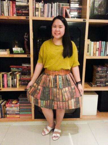 Tweedle Book Cafe - OOTD