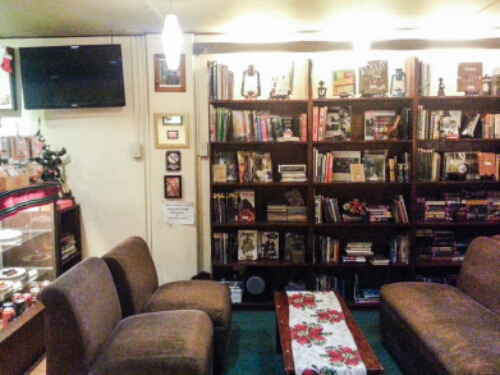 Cool Beans - bookshelf plus couch