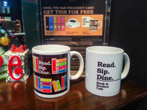 Book and Borders - mugs