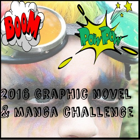 2016 graphic novel challenge