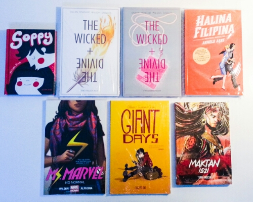 Christmas 2015 - graphic novels
