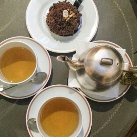 Angelina - Negresco and tea