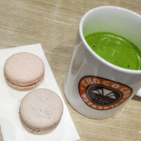 Bonheur Patisserie with matcha