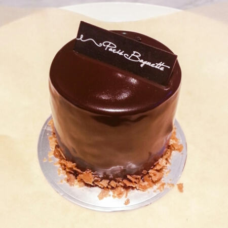 Paris Baguette - chocolate earl grey