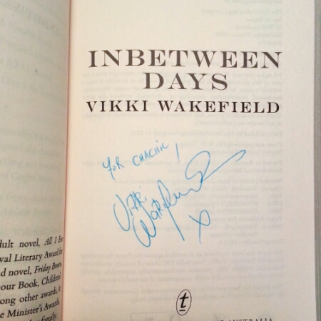 From Vikki Wakefield - signature