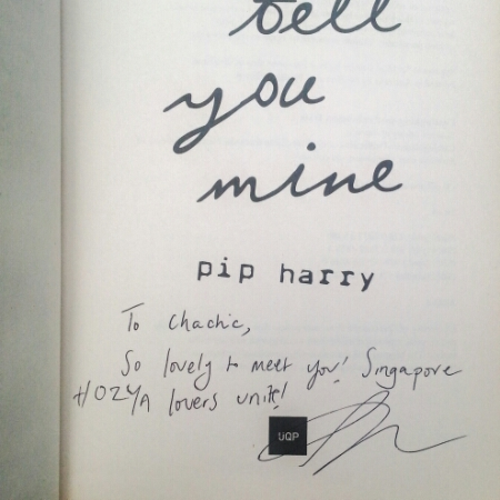 Pip Harry's signature