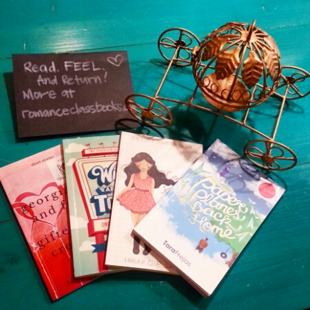 Tweedle Book Cafe - May 2016 - romanceclass