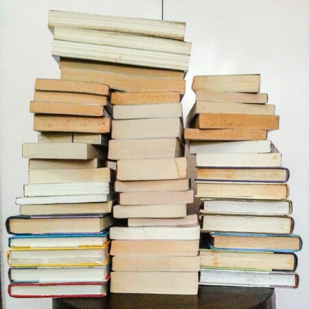 May 2016 - books donated