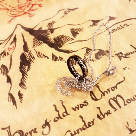 LOTR one ring necklace